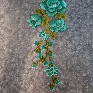 Embroidered Rose sewing item